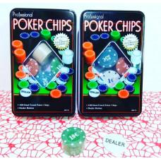 Наст. игра Покер 100 фишек